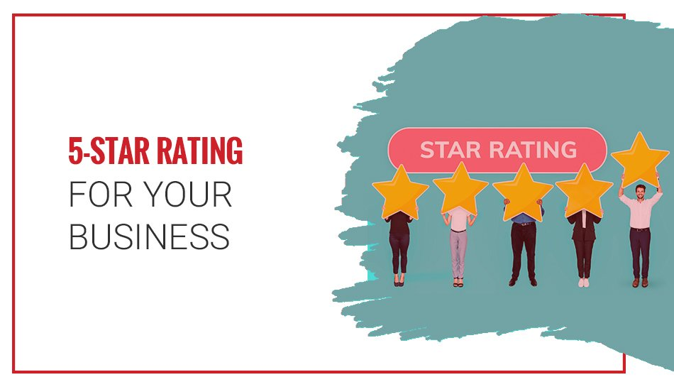 5-Star Rating For Your Business